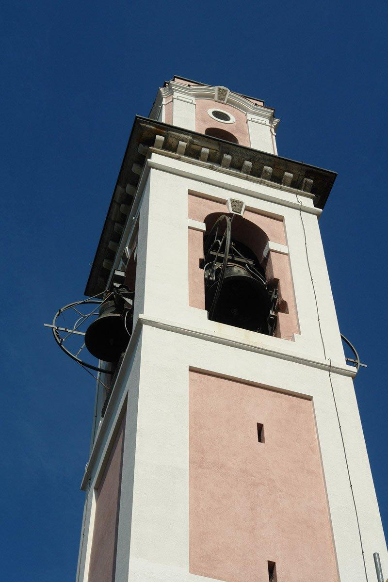 tinteggio campanile esterno