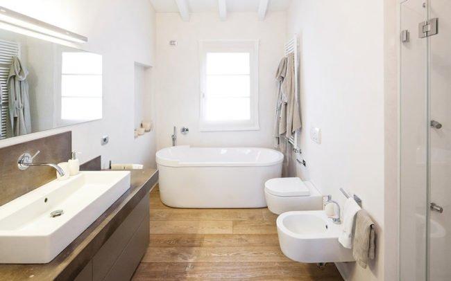 bagno privato total white