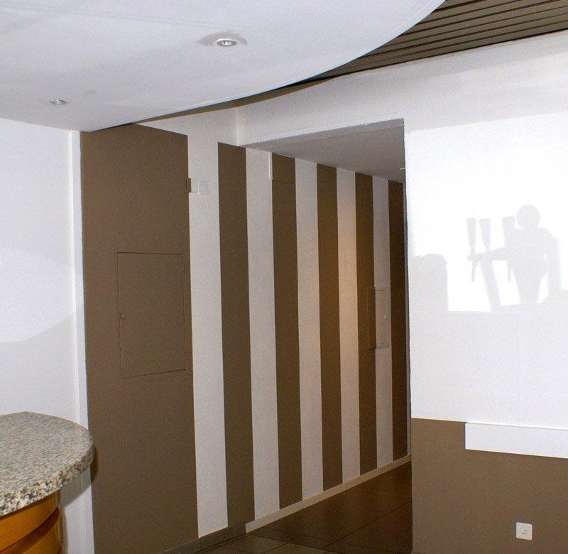 corridoio in casa privata